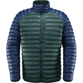 Haglöfs Essens Mimic Hood Jacket Men Mineral/Tarn Blue